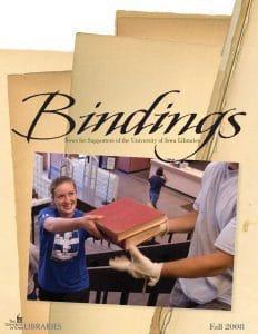 Cover of Bindings - Fall 2008