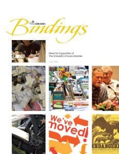 Cover of Bindings - Fall 2009