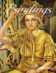 Cover of Bindings - Fall 2010