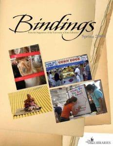 Cover of Bindings - Spring 2009