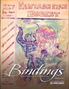 Cover of Bindings - Spring 2015