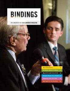Cover of Bindings - Summer 2017