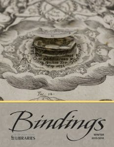 Cover of Bindings - Winter 2015/2016