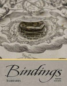 Cover of Bindings - Winter 2015/2016