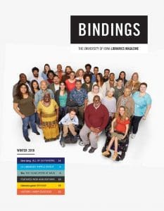 Cover of Bindings - Winter 2018