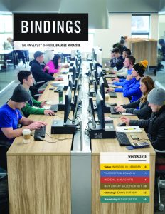 Cover of Bindings - Winter 2019