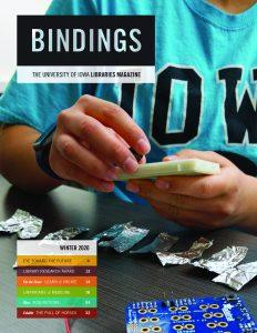 Cover of Bindings - Winter 2020