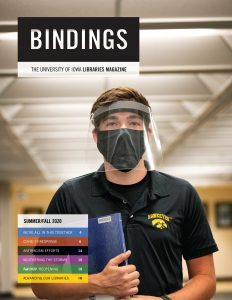 Cover of Bindings - Summer/Fall 2020