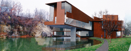Good Art Building, University Of Iowa, Designed By Steven Holl