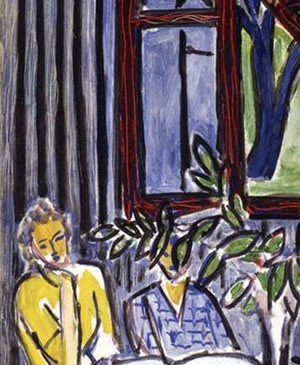 Blue Interior With Two Girls by Henri Matisse, 1947