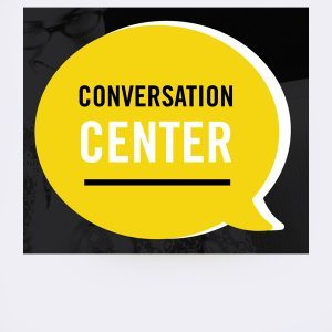 Conversation center at the Business Library