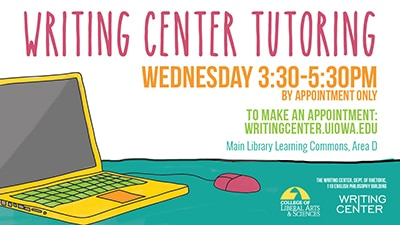 0307-2 website Writting Center Tutoring Sign