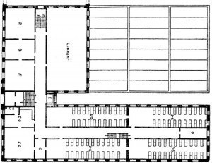 library floor plan 1905-06