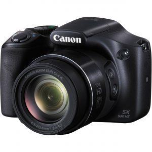 Camera: Canon PowerShot