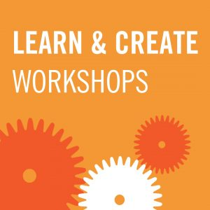Learn & Create Workshop Icon