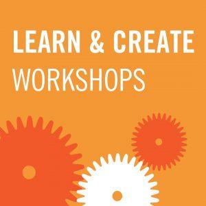 Learn & Create Workshop Icon