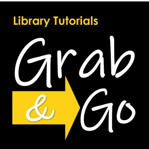 Library Tutorials Grab & GO