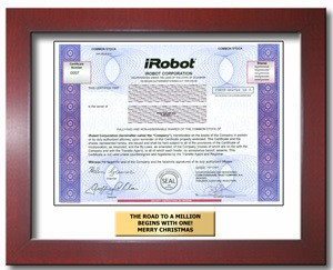 iRobot framed stock
