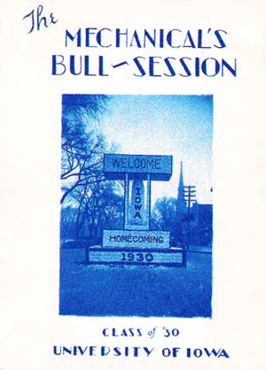 Mechanical's Bull-Session Cover 1930