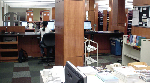 Seamans Center Engineering Library