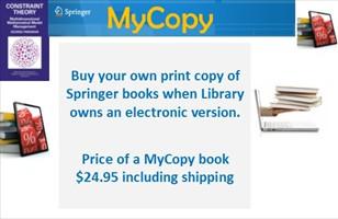 Springer MyCopy