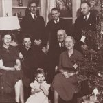 Photo of Eugene Allen Gilmore and his family