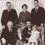 Virgil Hancher and six other family members.