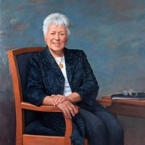 UI Presidential Portraits Gallery - Sally Kay Mason (pictured)