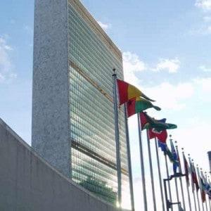 United Nations Secretariat Building in New York.