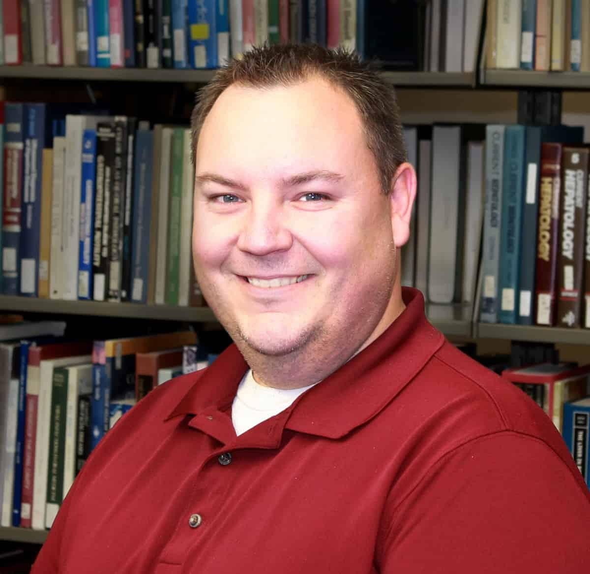 Matt Regan, Clinical Education Librarian