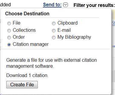 Send to citation manager