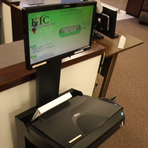 Image of Scanner available at Hardin Library