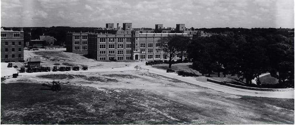 South view of the recently completed Medical Laboratory Building, 1928