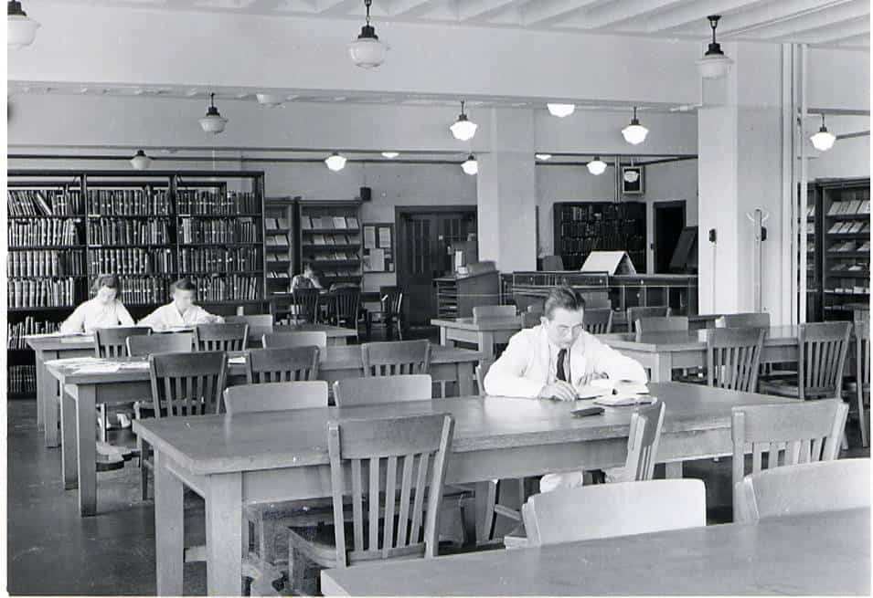 Reading Room, Medical Library, c. 1938