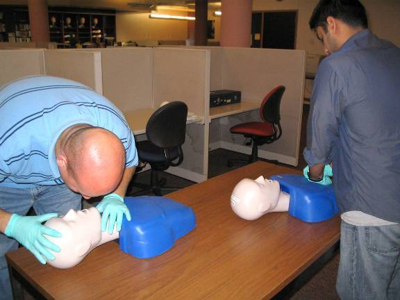 CPR Prompt Adult Manikin