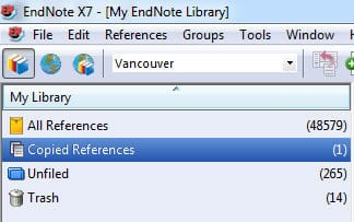 EndNote Library