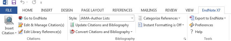 producing a bibliography