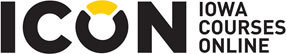 Hardin Library Reserve materials are available through ICON Iowa Courses Online