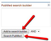 Now, near the top, click the Add to Search Builder button