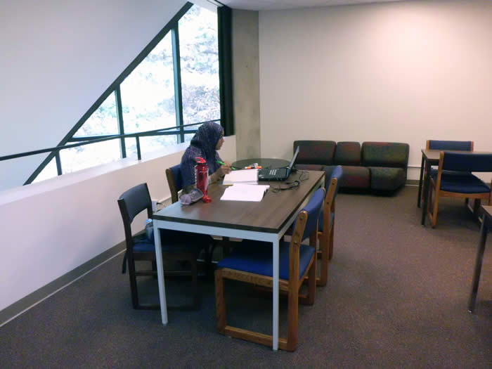 4th floor study area