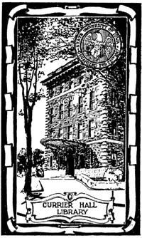currier bookplate