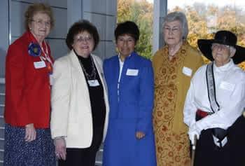 Charlotte Mohr, Doris Peick, Sister Irene Muñoz, Pat Jensen, Pamela Stewart, Iowa City, Iowa, 2005