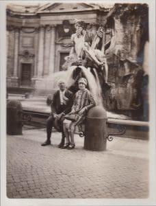 Parents Dr. J.L. & Lillian Augustine, 1926