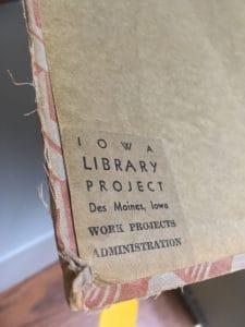1930s WPA Scrapbook