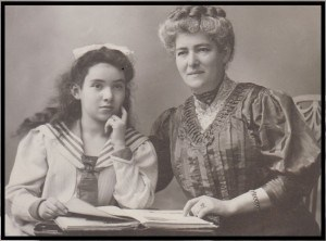 Ruth Salzmann and her mother, Ruth Becker Papers