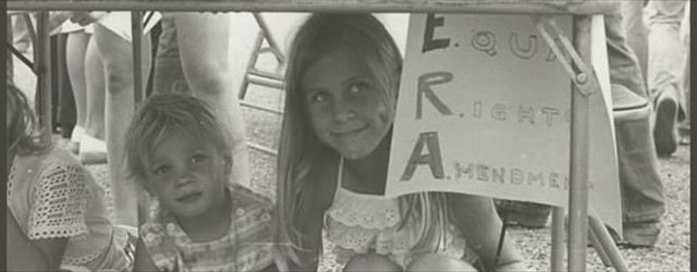 Equal Rights Amendment rally, circa 1980