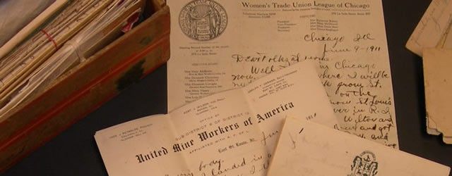Letters from labor activist Pearl McGill to her family in Grandview, Iowa, 1911-1912