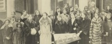 Members of the Delta Sigma Theta Sorority in Des Moines, Iowa, circa 1924