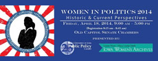 Women in Politics 2014: Historic & Current Perspectives