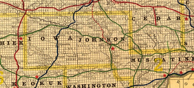 Map Collection in the Iowa Digital Library